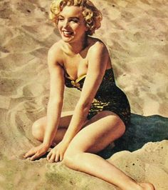 """Marilyn Monroe in """"Make It Legal,"""" 1951"""