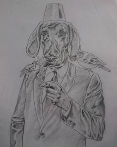 Pencil drawing of Lucky Lou Lynch La Confidential, Kevin Spacey, My Character, Casablanca, Lynch, Bristol, Pencil Drawings, Pugs, Characters