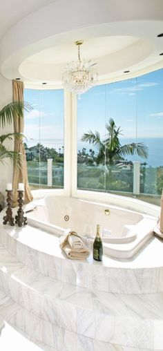 I want this bathroom...and, of course, the oceanfront home that I imagine comes with it.