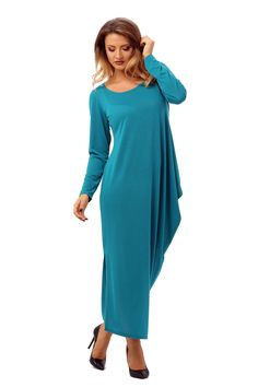 In pas cu moda - MariaLuisa. Cold Shoulder Dress, Dresses, Blog, Fashion, Green, Gowns, Moda, La Mode, Dress