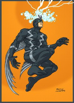 Black Bolt - Ramon Villalobos