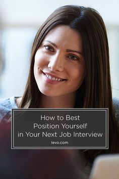 It's not just about the position in front of you, it's also important to think about the future and where you hope to end up professionally.  www.levo.com #JobSearch