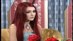 A young Ukrainian woman, aged 19, has managed to get physically very close resemblance to that of an anime character