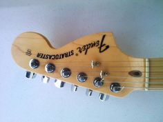 2010 USA Highway 1 Fender Stratocaster Headstock Front