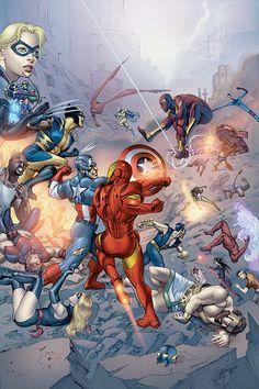 Marvel's Civil War by Mike Mayhew