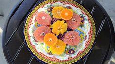 Citrus Festival with Shredded Coconut