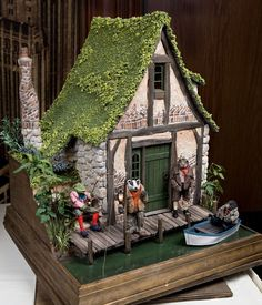 Making a Wind in the willows theme  house for the garden would be something that may interest  boys!