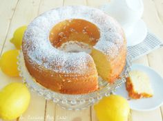 Torta al limone morbida morbida - super soft lemon cake :) includes English recipe
