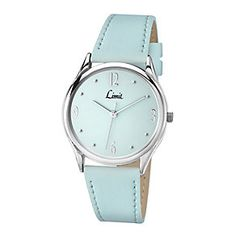 Limit Ladies' Aqua Pastel Blue & Silver Tone Watch - Product number 2264455