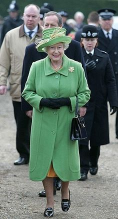 Queen of the Great Britain.