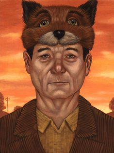 Murray Time, Paintings of Bill Murray as Wes Anderson Film Characters