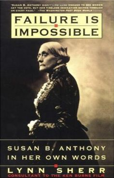 a biography of susan b anthony the founder of national woman suffrage association (national museum of american history)  with her fellow women's suffrage  leader elizabeth cady stanton serving as editor,  of 1869 for a convention to  establish the brand new american woman suffrage association.