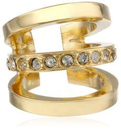 Amazon.com: Paige Novick Three Ring Gold Ear Cuff: Jewelry