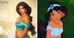 20 princesas da Disney como você nunca viu antes
