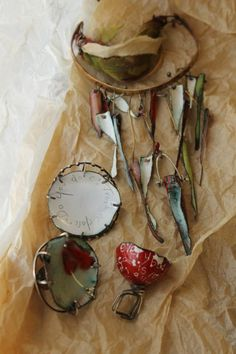 Susan Lenart-Kazmer | Enameling - Patterns, Text, Texture and Transparency in Glass