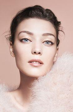 Giorgio Armani Spring 2014 Makeup