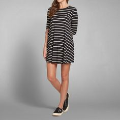 Womens Slinky Knit T-Shirt Dress | Womens New Arrivals | Abercrombie.com