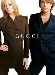 Tom Ford for Gucci F/W 1995, Amber Valetta by Mario Testino