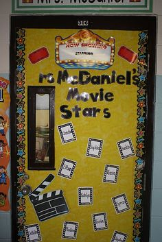 Hollywood classroom theme  AIL products: Poppin' Pattern Star Border (CTP5841), Lights, Camera, Action! BBSet (CD110145)