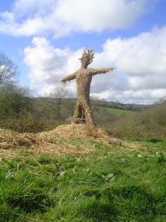 Summer Solstice:  Wicker Man, for the #Summer #Solstice.