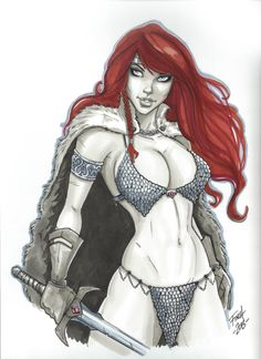 Red Sonja by Patrick Finch
