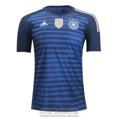 7ae92cda8b261 Tailandia Camiseta De Futbol Alemania Portero 2018 Azul