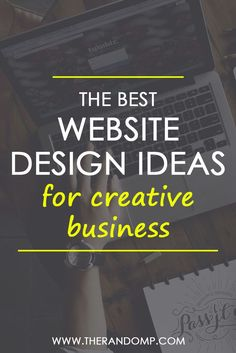 The best website design ideas for your creative business: therandomp.com/blog/best-web-design-practices-for-creatives