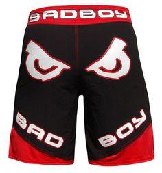 Bad Boy Legacy II Short Black/ Red - Bad Boy Legacy Shorts - Bad Boy Legacy Range | Bad Boy UK