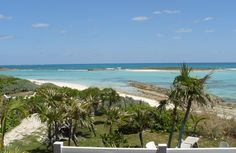 Green Turtle Cay house rental - Spectacular view from the front porch