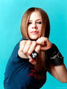 Avril Lavigne by Gabrielle Revere for Entertainment Weekly • 2002