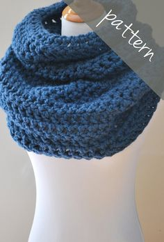 Or this one, you choose. Just make one for me please sweet sis Kel... Oversized crochet cowl pattern