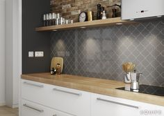 Scale Alhambra Dark Grey 12x12. #alhambra, #arabesque, #fan, #hexagon, #geometric tile, #geometry, #modern, #interior, #pastel colours, #basic colours, #forms, #shape, #house, #modern, #interior design, #interior designer, #kitchen, #kitchen tile, #bath, #bathroom tile, #scale, #ceramic tile, #white body,