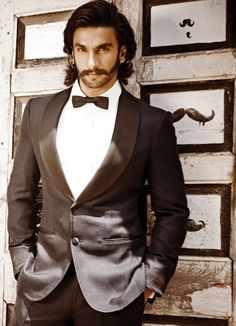 Ranveer Singh. Dear God, the only time the moustache works for me.