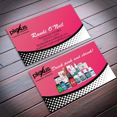 Plexus business cards print or digital file