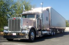 """You've heard of the pink Cadillac … but have you ever heard of a pink Mary Kay fan Christina T. had her big rig custom painted """"Mary Kay Pink"""" after falling in love with the chrome and pink palette of the pink Cadillac."""