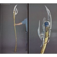 Making Loki& Sceptor / Staff from the Avengers. (Crazy cool instructions for building this, but lots of great ideas for constructing staffs in general for cosplay purposes! Cosplay Tutorial, Cosplay Diy, Halloween Cosplay, Best Cosplay, Cosplay Ideas, Costume Ideas, Halloween Coatumes, Costume Box, Fun Costumes
