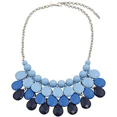 Chicnova Fashion Multilayer Waterdrop Necklace ($4.40) ❤ liked on Polyvore featuring jewelry, necklaces, accessories, collane, layered jewelry, layered necklace, multi layered necklace and double layer necklace