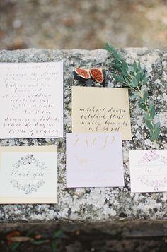 Photography: Cat Hepple - http://www.stylemepretty.com/portfolio/cat-hepple   Read More on SMP: http://www.stylemepretty.com/destination-weddings/france-weddings/2014/12/18/romantic-provencal-fig-berry-wedding-inspiration/