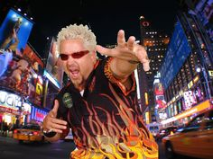 Guy Fieri's Restaurant Opens in Less Than Three Hours