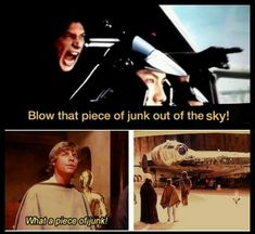 #TheLastJedi #ANewHope #StarWars parallels