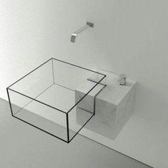 lavabo in vetro