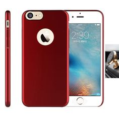 iPhone 7 Case Remex[with Tempered Glass Srceen Protector] Ultra Thin Magnetic Flat Shell and Anti-Scratch and Magnetic Car Mount Design Cover for Apple iPhone 7 (Wine Red) -- Awesome products selected by Anna Churchill