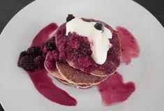 Zdravé lívance z ovesných vloček a banánu - Recepty.cz - On-line kuchařka Muesli, Ricotta, Nutella, Pancakes, Food And Drink, Lunch, Cooking, Breakfast, Sweet