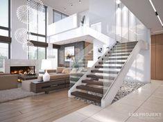 Corredores, halls e escadas modernos por LK&Projekt GmbH