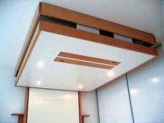 1000 id es sur le th me lit escamotable plafond sur - Lit suspendu au plafond pas cher ...
