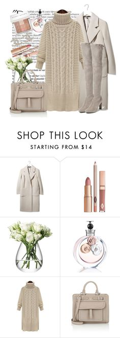 """Без названия #1768"" by ekozlova ❤ liked on Polyvore featuring Balmain, Boutique, LSA International, Valentino, Fontana Milano 1915, Stuart Weitzman, Bobbi Brown Cosmetics, Chanel, women's clothing and women"