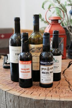 Types of Sherry —try serving a bottle with your Thanksgiving spread