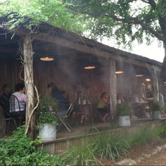 Come cool off on Grapevine's front patio!