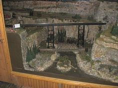 HO Scale Model Train Layouts | ... Memorial Park - Medina Railroad Museum HO Scale Model Train Layout