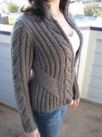 """Девчата, мне очень нравиться эта модель. ОЧЕНЬ-ОЧЕНЬ . Наткнулась в Инете давным-давно, С названием """"Городской свитер"""""""